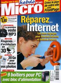 Magazine Micro Hebdo n343